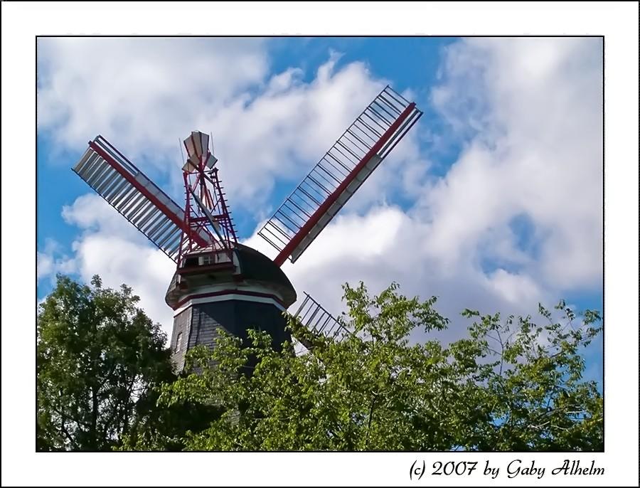 die Mühle in den Bremer Wallanlagen